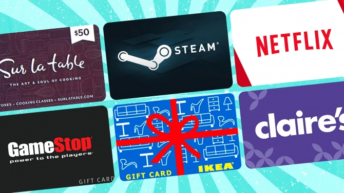 The gift cards your kids and grandkids really want