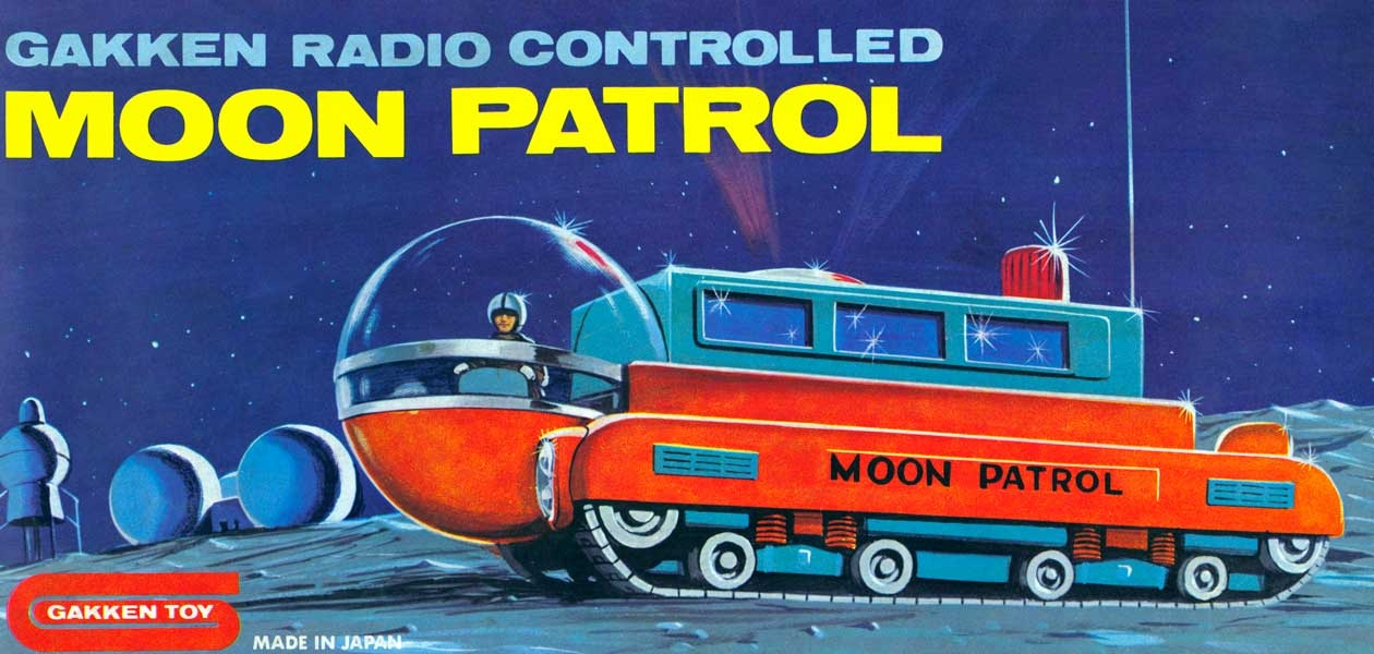 1960s space race toys could fly you to the moon