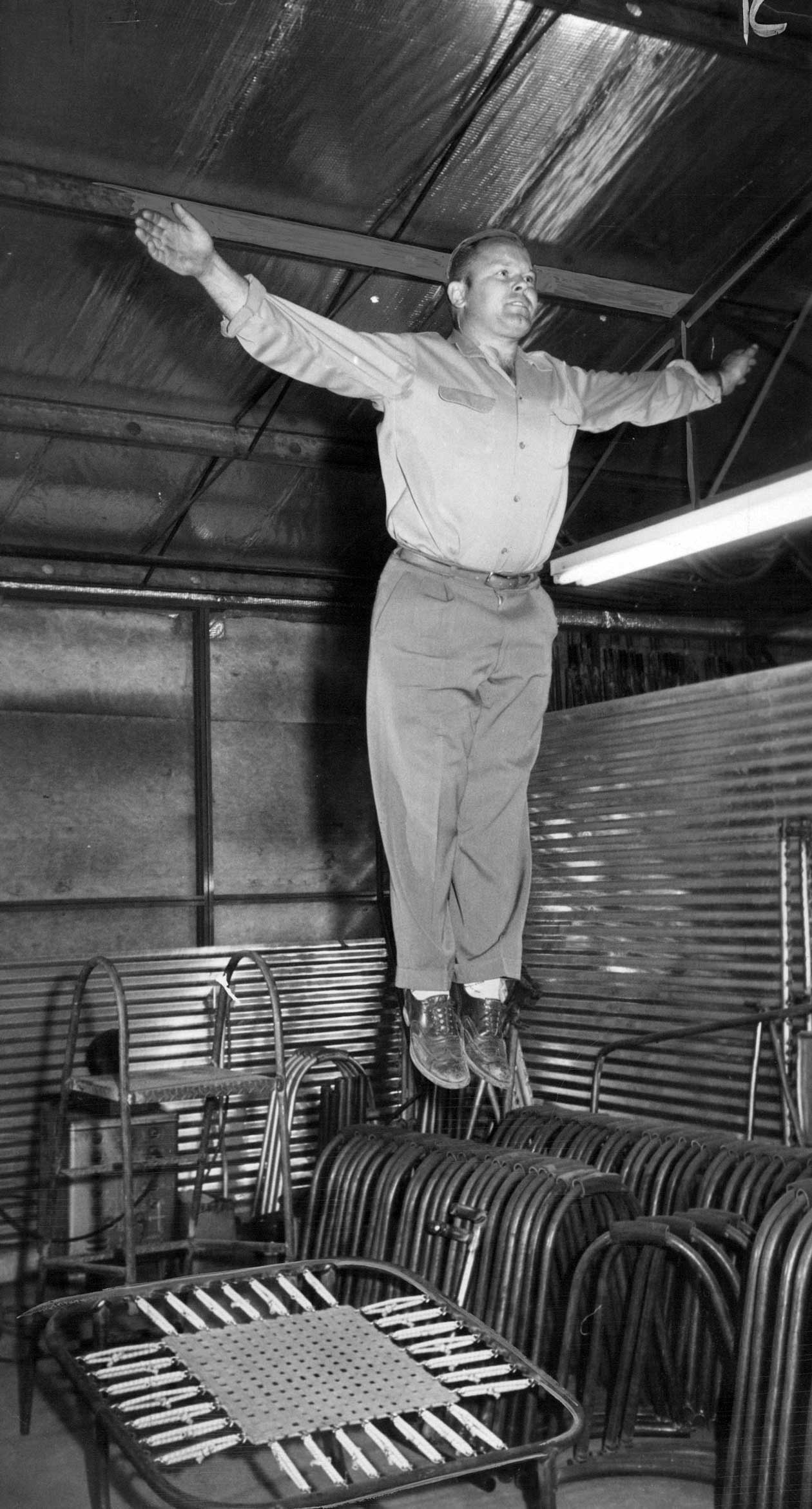 Trampolines Vintage Photos From The 1930s Considerable