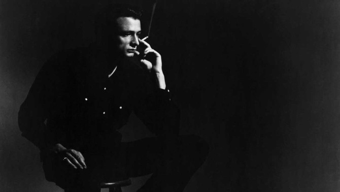 Johnny Cash becomes The Man in Black
