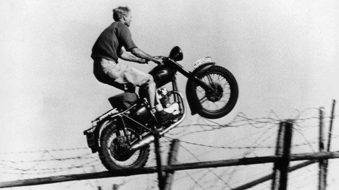 Escaping with Steve McQueen