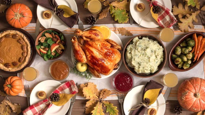 The most searched for Thanksgiving dishes by state